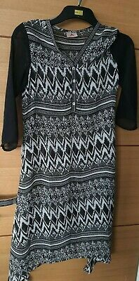 Girls High Low Dress 8/9 Yrs • 1.10£
