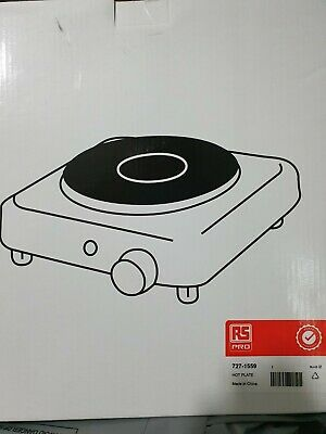 £13.99 • Buy New Single Electric Hot Plate Portable Stove Table Top Kitchen Cooker Hob 1.5KW