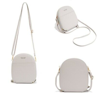 $ CDN34.03 • Buy Retro Crossbody Handbags Women Fashion Semicircle Small PU Leather Shoulder Bag