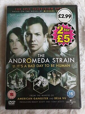 The Andromeda Strain - The Mini-Series - Complete (DVD, 2008, 2-Disc Set) SEALED • 4.99£
