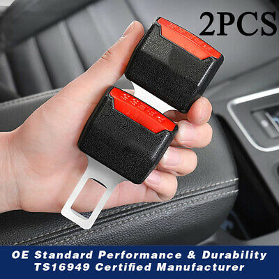 $8.68 • Buy 2 Seat Belt Extender, Automotive Safety Seat Belt Buckle Booster Extension Clips