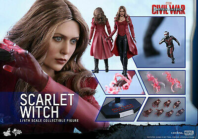 $ CDN983.24 • Buy Hot Toys Scarlet Witch Captain America Civil War MMS370 Avengers New In Box