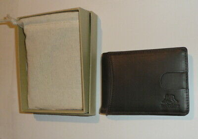 $ CDN7.64 • Buy RFID Blocking Thin Wallet,nubuck Leather Credit Cards Money Clip,new Boxed QC1