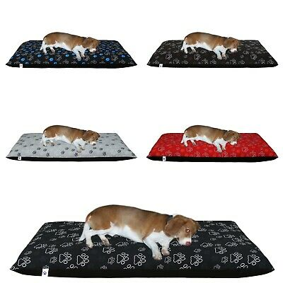 £1.99 • Buy Dog Bed Removable Zipped Cover Washable Pet Bed Cushion Cover Medium And Large