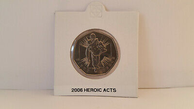Royal Mint  50 Pence 2006 Heroic Acts 50p • 0.99£