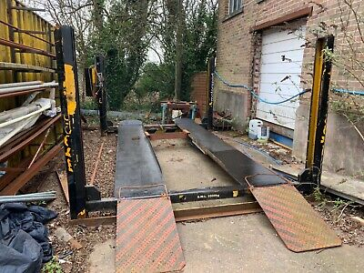 4 Post Car Ramps 3 Phase • 850£