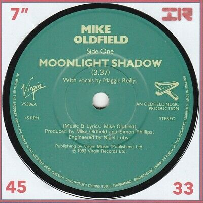 £0.99 • Buy MIKE OLDFIELD - Moonlight Shadow - 7  - Disc: GOOD