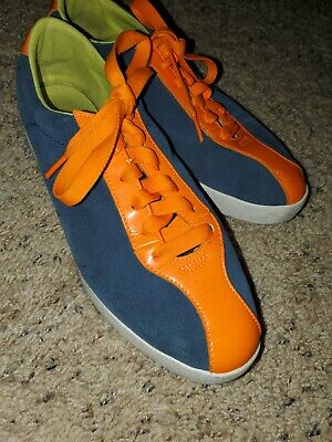 AU11.73 • Buy Women's Puma Blue Suede Shoes Sneakers Size 8