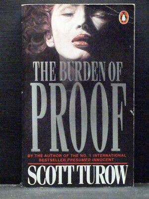 AU8.93 • Buy The Burden Of Proof  Second Book Kindle County Series   By Scott Turow