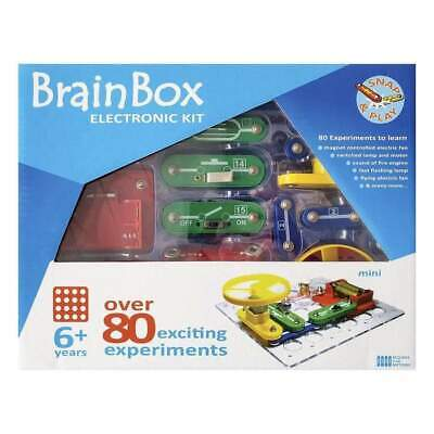 AU44.97 • Buy Brain Box STEM Electronic Mini Experiment Kit Over 80 Exciting Experiments