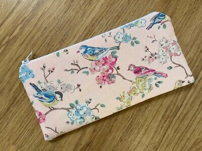 £5.50 • Buy Pencil Case Make Up Case Glasses Case (b) Made Using Cath Kidston Fabric By Dawn