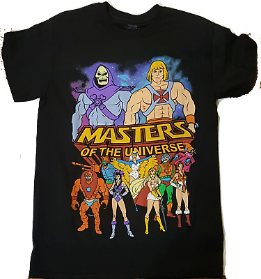 $16.95 • Buy Masters Of The Universe He Man She-Ra Skeletor Orco And Gang Small T Shirt