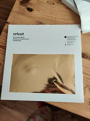 Cricut Gold Foil Transfer Sheets (incomplete Pack) • 8£