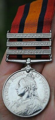AU490.62 • Buy QSA Queens South Africa Medal To Shropshire Light Infantry