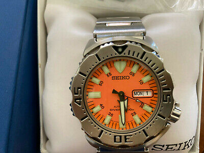 $ CDN603.75 • Buy Seiko Orange Monster SKX781 Stainless Steel Divers Watch