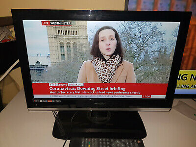 12V /240V E-motion Digital 18.5 Inch LCD TV FREEVIEW Excellent Condition • 75£
