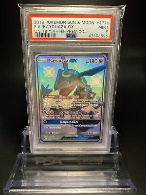 $ CDN89.19 • Buy PSA 9 Rayquaza GX FA 177a/168 Hidden Fates Pokemon Card