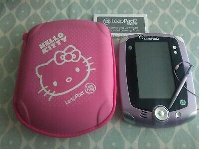 £22 • Buy Leappad 2 Explorer By Leapfrog - Purple Version With Pink Hello Kitty Case