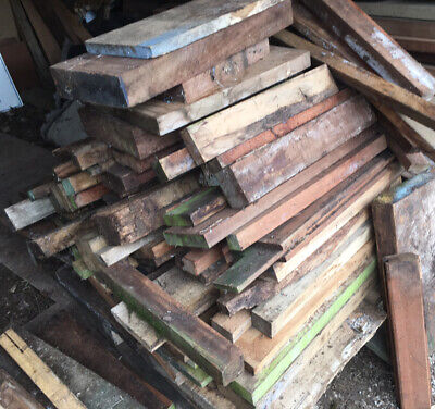 £140 • Buy Lengths Hardwood Various Sizes Planks Posts Wood Timber Red / Oak Wood Boards