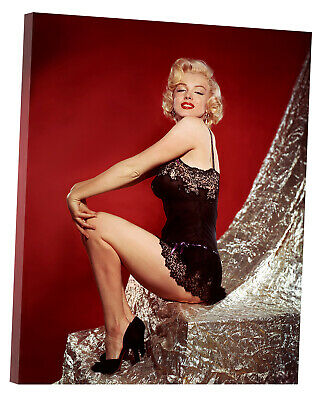 £10.49 • Buy Marilyn Monroe Photo Model Picture Print On Framed Canvas Wall Art Home Decorati