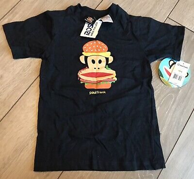 £5.20 • Buy New With Tags Boys Paul Frank T-Shirt, Age 4 Years