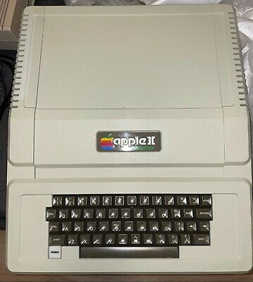 """£505.35 • Buy Apple II Euro Plus 48K Computer + Apple 5.25"""" Floppy Disk Drive And Controller"""