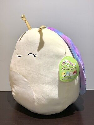 "$ CDN88 • Buy New Squishmallows XL 16"" Elysa The Snail Rare Exclusive BNWT"