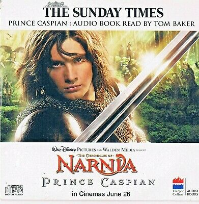 The Chronicles Of Narnia - Prince Caspian  -  Audio Book CD N/Paper TST • 1.65£