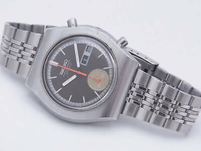 $ CDN1603.62 • Buy Seiko 6139-8020 Vintage Chronograph Day Date Automatic Mens Watch Auth Works