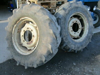 £660 • Buy For, Ford 6610,7610 4wd PAIR 13.6 X 24 340/85 X R24 Front Wheels & Tyres