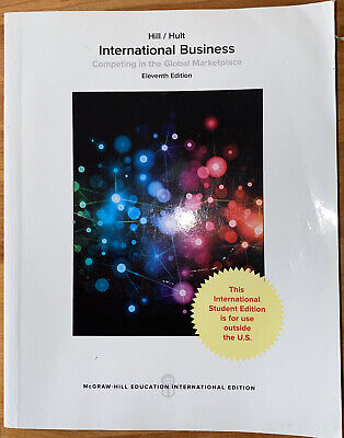 £25 • Buy International Business (Competing In The Global Marketplace) By McGraw-Hill
