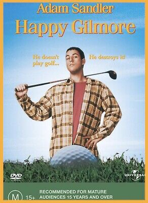 AU9.99 • Buy NEW Happy Gilmore DVD Sealed Australian Region 4 Adam Sandler FREE POSTAGE