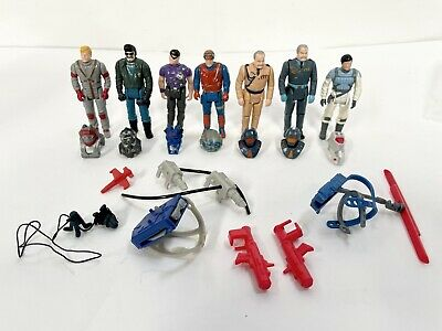 $114.95 • Buy Kenner M.A.S.K. Complete Action Figure Lot! 7 Figures ALL W/ Helmets Accesso