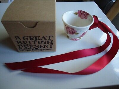£25 • Buy Emma Bridgewater Scattered Rose Tiny Cup New Discontinued 1st Boxed With Ribbon
