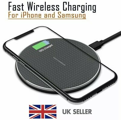 $ CDN12.56 • Buy Luxury Qi Fast Wireless Charger Charging Pad For Apple IPhone 12 XS Max Xr X 11
