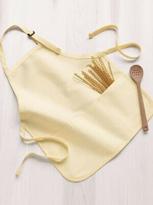 $9.99 • Buy Kitchen Apron With Pouch Unisex Chef Cook Cooking Gift