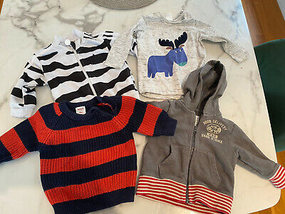 AU6.95 • Buy Baby Boy Clothes Lot Of Clothes Adidas, Seed And Country Road