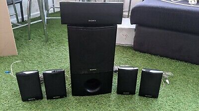 £59.99 • Buy Sony 5.1 Surround Sound Speakers With Original Cables And Plugs