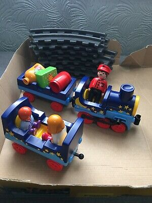£15 • Buy Playmobil 6880 Night Train & Track With Figures VGC In Original Box