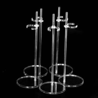 £7.99 • Buy 20Pcs Transparent Doll Stand Display Holder For 11.5'' Dolls Doll Display R