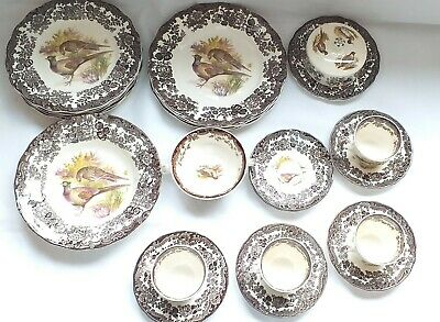 £9 • Buy Royal Worcester Palissy Game Series Pheasant Replacement Cups, Bowl Or Plate Etc