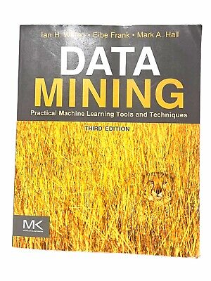$18.70 • Buy Data Mining: Practical Machine Learning Tools And Techniques 3rd Edition