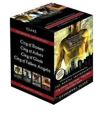 £5.60 • Buy The Mortal Instruments Boxed Set: City Of Bones/City Of Ashes/City Of Glass/Cit…