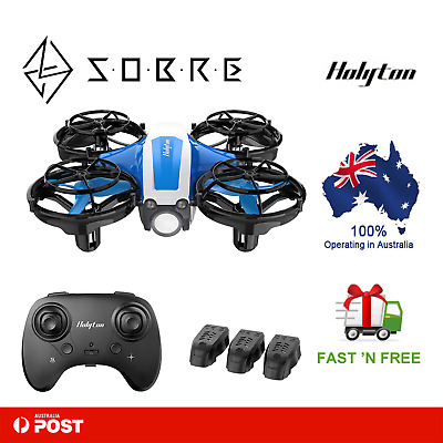 AU59.95 • Buy Holyton HS330 Mini Drone Hand Operated Remote Control Quadcopter Kids Beginners