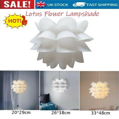 £11.99 • Buy Hot Lotus Flower Lampshade Lamp Shade For Ceiling Pendant Light Home Shop Decor