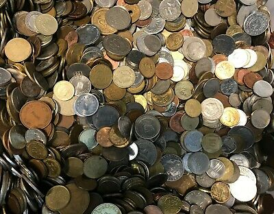 £13.99 • Buy 1 Kilo Mixed Unsorted World Foreign Bulk Coins Free Post 1KG