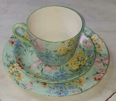 £32.50 • Buy SHELLEY: Uncommon Vintage  Melody  Trio ~ Demitasse Cup, Saucer & Plate