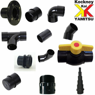 £4.50 • Buy Solvent Weld 1.5  Pipe And Filter Fittings For Garden Ponds