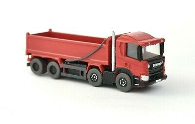 £16.95 • Buy N Gauge 1:148 BCC A3D101 Modern 8 X 4 Tipper Truck Lorry (Red) Ready To Plant