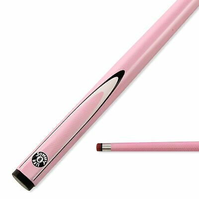 AU63.38 • Buy Jonny 8 Ball 57 Inch BABY PINK INFERNO 2pc Graphite Pool Snooker Cue - 9mm Tip